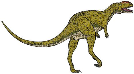 dinosaur picture rugops